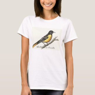 Le T-shirt des femmes de Baltimore Oriole
