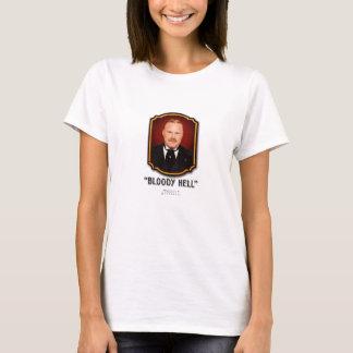 Le T-shirt des femmes de Brackenreid d'inspecteur