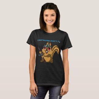 Le T-shirt des femmes de ChipmunkCraft v2