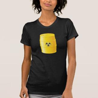 Le T-shirt des femmes de déchets radioactifs