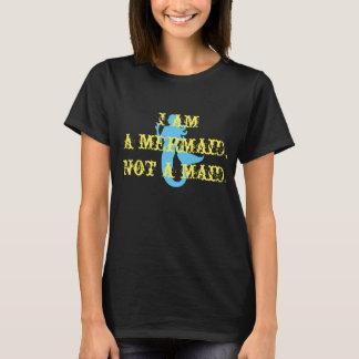 le T-shirt des femmes de domestique de sirène pas