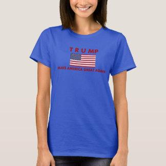 Le T-shirt des femmes de Donald Trump avec le
