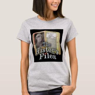 Le T-shirt des femmes de fichiers historiques
