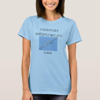 Le T-shirt des femmes de Key West Etats-Unis de