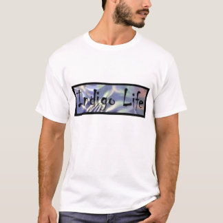Le T-shirt des femmes de la vie d'indigo