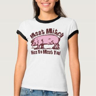 Le T-shirt des femmes de Mitch de viande