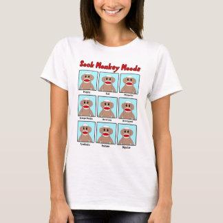 Le T-shirt des femmes de modes de singe de