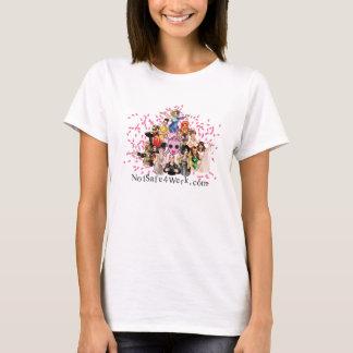 le T-shirt des femmes de NotSafe4Werk.com