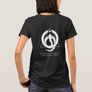 Le T-shirt des femmes de PAMA (noir)