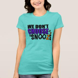 Le T-shirt des femmes de petit somme