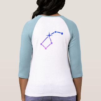Le T-shirt des femmes de promenade d'étoile (mi