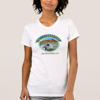 Le T-shirt des femmes de remorque de larme