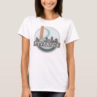 Le T-shirt des femmes de #riversideatl (blanc)