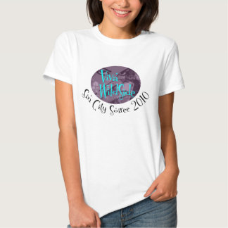 Le T-shirt des femmes de Soiree de VWS Sin City
