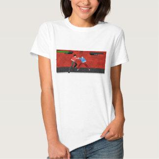 Le T-shirt des femmes de Street Fighter