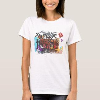 Le T-shirt des femmes de thérapie de voyage