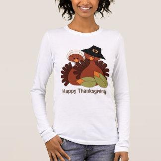 Le T-shirt des femmes de vacances de dinde de