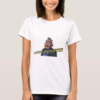 Le T-shirt des femmes de vieil homme
