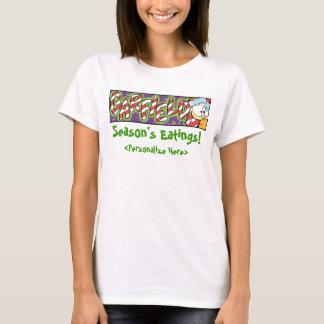 Le T-shirt des femmes d'Eatings de la saison de
