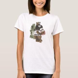 Le T-shirt des femmes d'écureuil de voleur