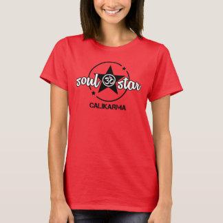 Le T-shirt des femmes d'étoile de ☆ d'âme
