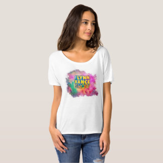 Le T-shirt des femmes d'exposition de Lynn Vance