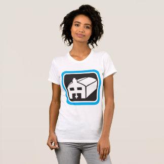 Le T-shirt des femmes d'icône de grange