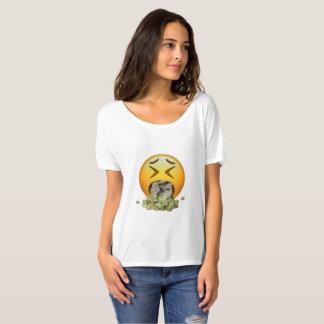 Le T-shirt des femmes d'impression de Sickoji par