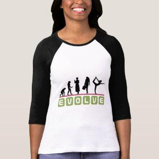 Le T-shirt des femmes drôles de yoga