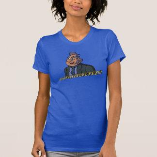 Le T-shirt des femmes du style 2 de vieil homme