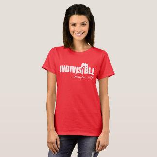 Le T-shirt des femmes indivisibles de TAMPA - logo
