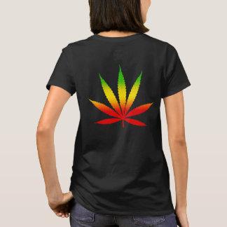 Le T-shirt des femmes jamaïcaines de la Jamaïque