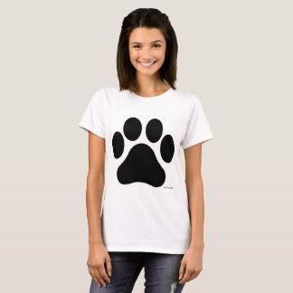Le T-shirt des femmes noires et blanches