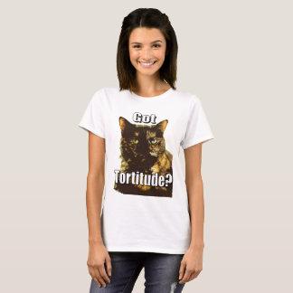 Le T-shirt des femmes obtenues de Tortitude