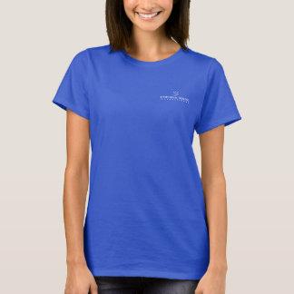 Le T-shirt des femmes - petit logo blanc