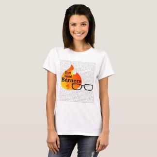 Le T-shirt des femmes pour la courbure Berners -