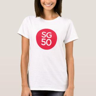 Le T-shirt des femmes SG50