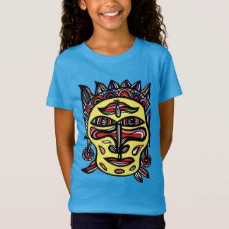 """Le T-shirt des filles """"de masque primitif"""""""