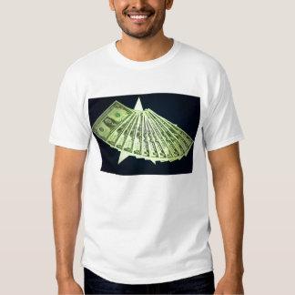 Le T-shirt des hommes américains d'argent