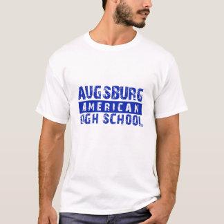 Le T-shirt des hommes américains de lycée