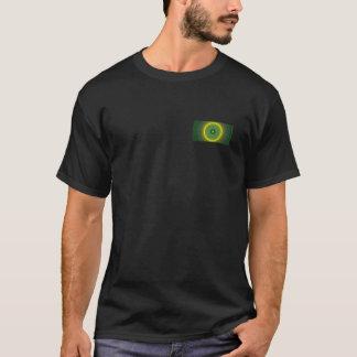 Le T-shirt des hommes Avant-De retour de fractale