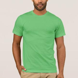 Le T-shirt des hommes avec de crête le dos dessus