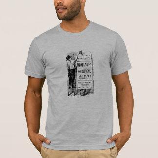 Le T-shirt des hommes d'annonce d'ère de PPZ