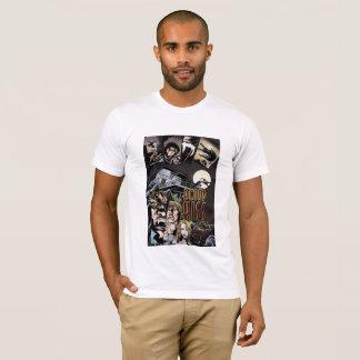 Le T-shirt des hommes de baiser de sang avec