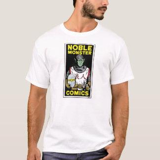 Le T-shirt des hommes de base de monstre de logo
