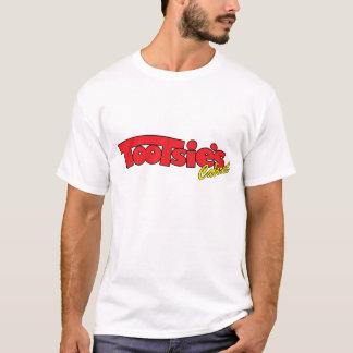 Le T-shirt des hommes de cabaret de pieds