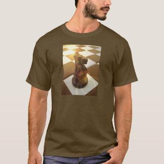 Le T-shirt des hommes de chevalier d'échecs
