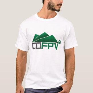 Le T-shirt des hommes de COFPV avec le logo vert