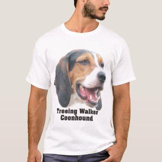 Le T-shirt des hommes de Coonhound de marcheur de