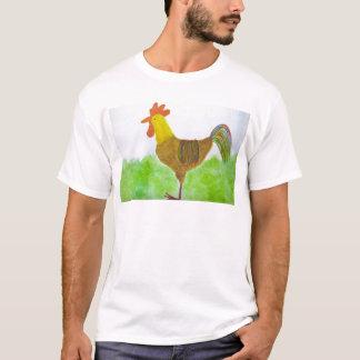 Le T-shirt des hommes de coq